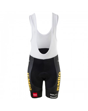 2020 Team JUMBO-VISMA Kids Cycling Shorts