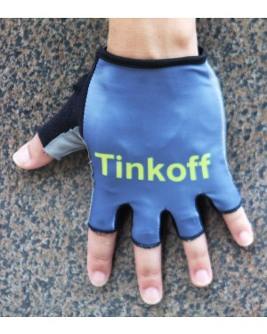 2016 Tinkoff Race Grey Cycling Gloves
