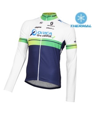 2015 Orica GreenEdge - Thermal Long Sleeve Cycling Jersey