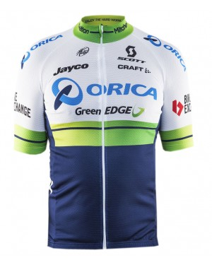 2016 Orica GreenEDGE - Short Sleeve Cycling Jersey