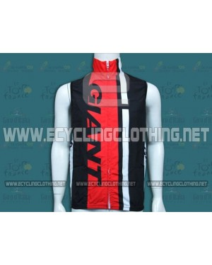 2014 Giant Black and Red Cycling Wind Vest