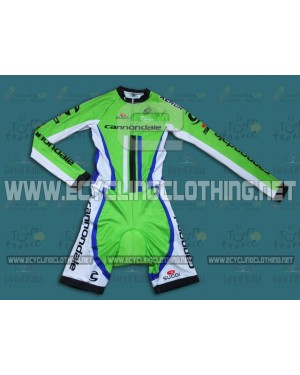 2014 Cannondale Factory Team - Long Sleeve Cycling Skinsuit Time Trail Skin Suits