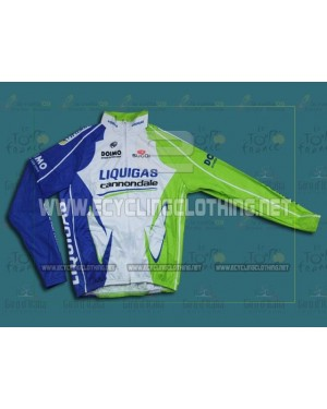 2012 Liquigas - Thermal Long Sleeve Cycling Jersey