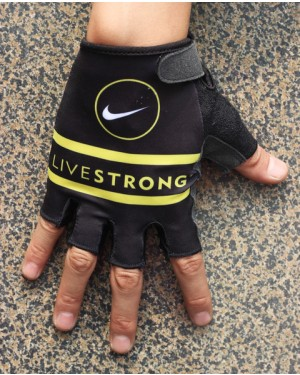 2013 Livestrong Black And White  - Cycling Glove