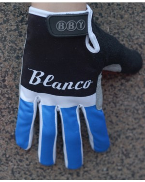 2014 Black And Blue Blanco  - Thermal long Cycling Gloves
