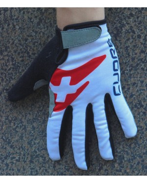 2016 IAM Cuore White Thermal Cycling Gloves